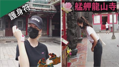 台灣寺廟讓人安心!俄羅斯美女擁護身符超有感 還願曝「信仰意義」