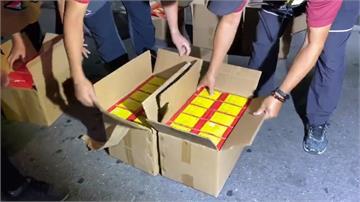 警破台東鐵皮屋 存放37.28kg超量爆竹