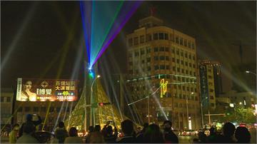 全台最大耶誕樹 打破傳統高雄「光合作用」美麗島站點燈