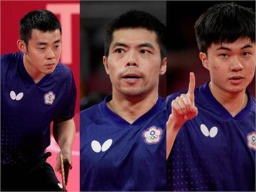快新聞/台灣桌球男團遺憾止步8強 賴清德鼓勵:拚搏的身影贏得全台灣尊敬