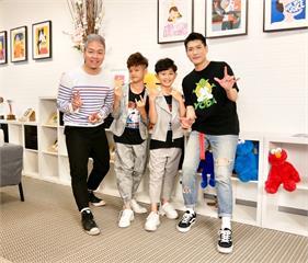 《台灣那麼旺》小小歌手洪尚捷與楊博智組團體!台上交情好各自粉絲「筆戰激烈」