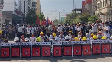 緬甸示威潮不間斷 印尼外長取消出訪行程