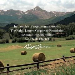 美國時尚品牌最大手筆捐款!1000萬美元助抗疫