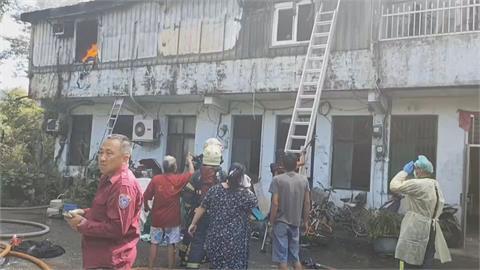 民宅火警3女童受困 2人脫困1女童命喪火場