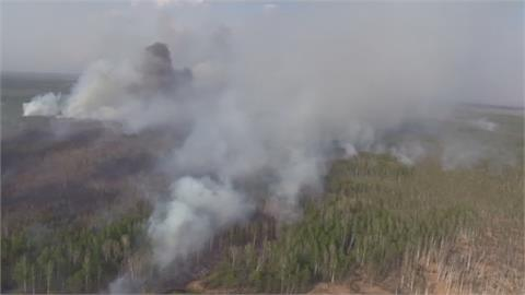 俄羅斯西伯利亞森林大火 延燒逾6萬公頃