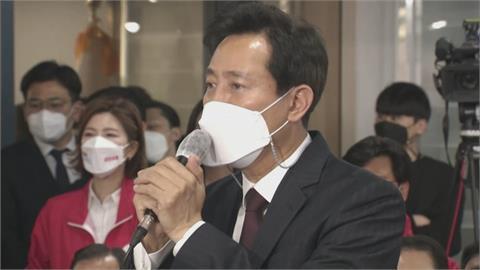首爾市長補選 最大在野黨候選人壓倒性領先