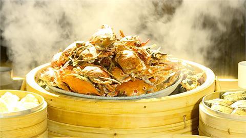 秋天就要吃蟹! 天成大閘蟹加1元多一隻、晶華栢麗廳增10多道蝦蟹料理