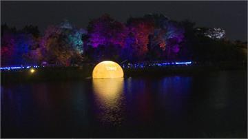 嘉義光織影舞展演 到北香湖公園「撈月趣」