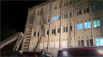 羅馬尼亞醫院遭祝融 10武肺病患死亡