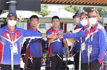 東奧/挺進8強!台灣射箭男團擊敗澳洲 下一戰強碰中國