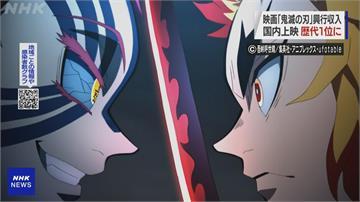 鬼滅之刃電影版日本票房破324億日圓 超越神隱少女成日影史票房冠軍