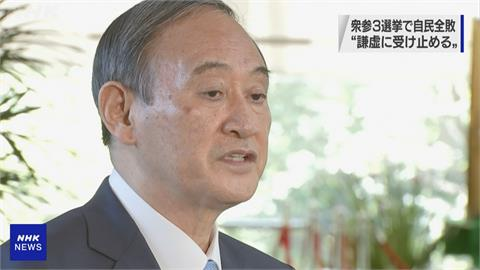 議員補選自民黨3地大敗 菅義偉:接受國民決定