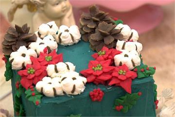 盆栽可以吃? 夢幻韓式擠花蛋糕好看又美味