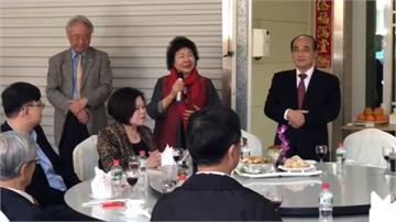 陳菊向王金平拜年 感謝當年協助推動勞動法案