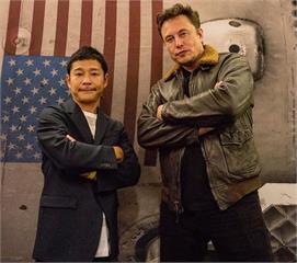 SpaceX首位繞月旅客 日富豪公開徵女友同行
