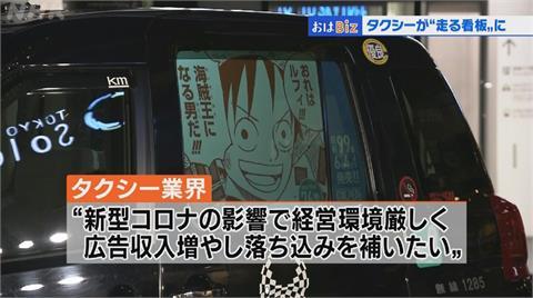 車窗變電子看板 運將疫情下廣告賺外快