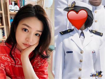 國軍女少尉神似陳妍希!網:「戀愛了」跪求IG 釣出親爸:寶貝女兒