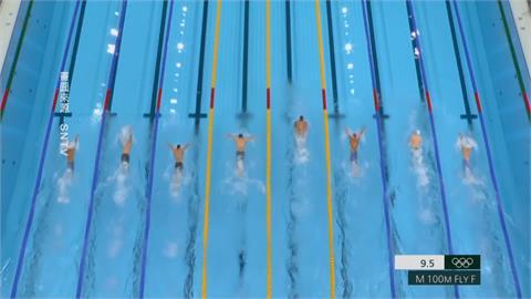 百米蝶式破世界紀錄 美國德萊賽爾奪第3金