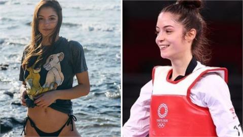 東奧/19歲「初戀感」跆拳道女神奪銅破紀錄 一腳踢中全以色列的心