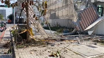 校園拆牆倒塌工安意外 怪手操作員遭壓死