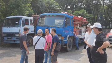 無法上路的兩輛泵浦車拍賣  只賣6萬5千元