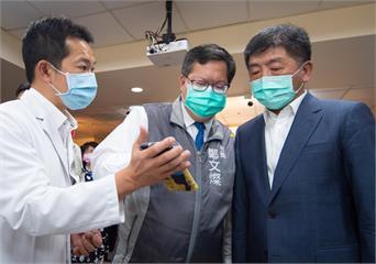 快新聞/鄭文燦感謝「這位先生」! 從不退縮與台灣人民並肩作戰