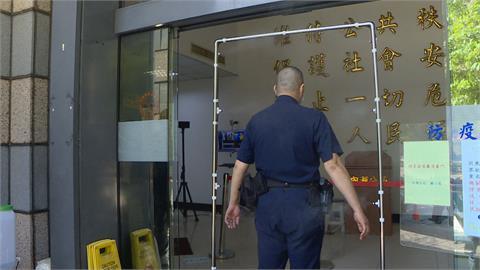 內湖分局購買「消毒滅菌門」 人民保母安心執勤