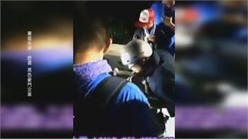 老伯騎車發生擦撞 陣頭攔人指稱他酒駕