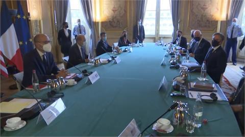 歐盟峰會討論對中策略 布林肯見馬克宏修補美法關係