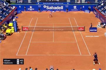巴塞隆納網賽 前球王喬柯維奇遭會外賽選手淘汰