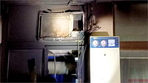 一週兩起!冷氣室外機起火  專家:定期清洗、避免頻繁開關
