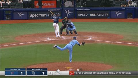 撿走藍鳥「球探報告卡」硬是不還 光芒挨報復性觸身球 引爆「板凳清空」衝突