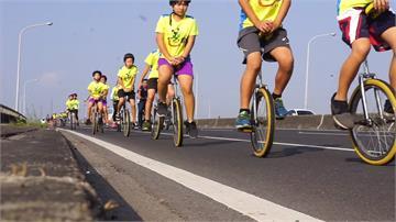 磨破皮也要騎下去!小學生獨輪車挑戰1000公里環島
