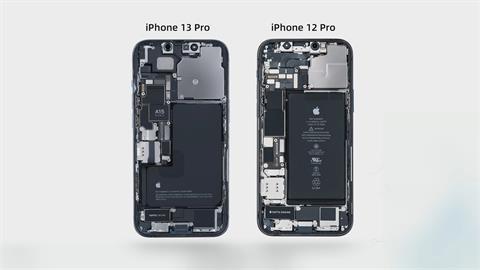 iPhone13拆解 首度印台積電代工A15字樣
