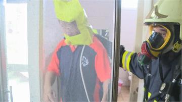 西螺民宅火警老翁受困打火弟兄靠「這個面罩」 1分鐘救命!