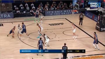 NBA/獨行俠兩大主力休兵 落後爵士22分仍逆轉奪勝