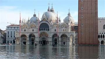 威尼斯再度淹到膝蓋!最高水位140公分