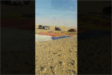 埃及熱氣球墜毀 造成1遊客死亡7人受傷