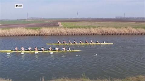 英國「牛劍」划船大對決 劍橋大學奪男女三連霸