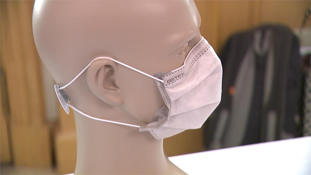 疫情時代消毒正夯 業者推防疫布料抗菌口罩