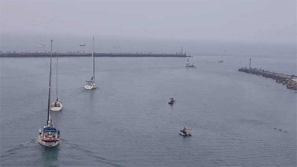 大鵬灣遊艇帆船賽登場!國內外200多人齊聚
