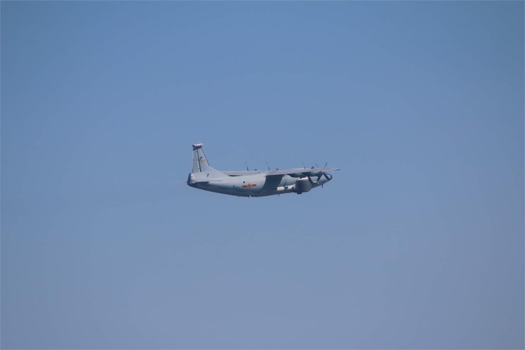 快新聞/連9天擾台! 中國一架運-8遠干機闖我西南空域 空軍防空飛彈追監