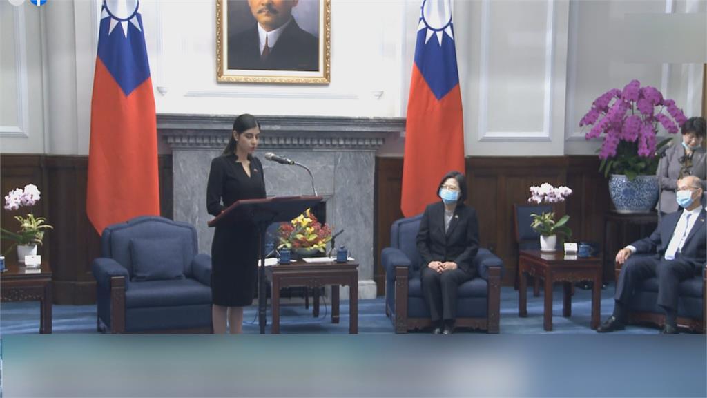 銘傳大學畢業!蔡總統接見尼加拉瓜新大使 感謝尼加拉瓜「聯合國大會為台灣仗義執言」