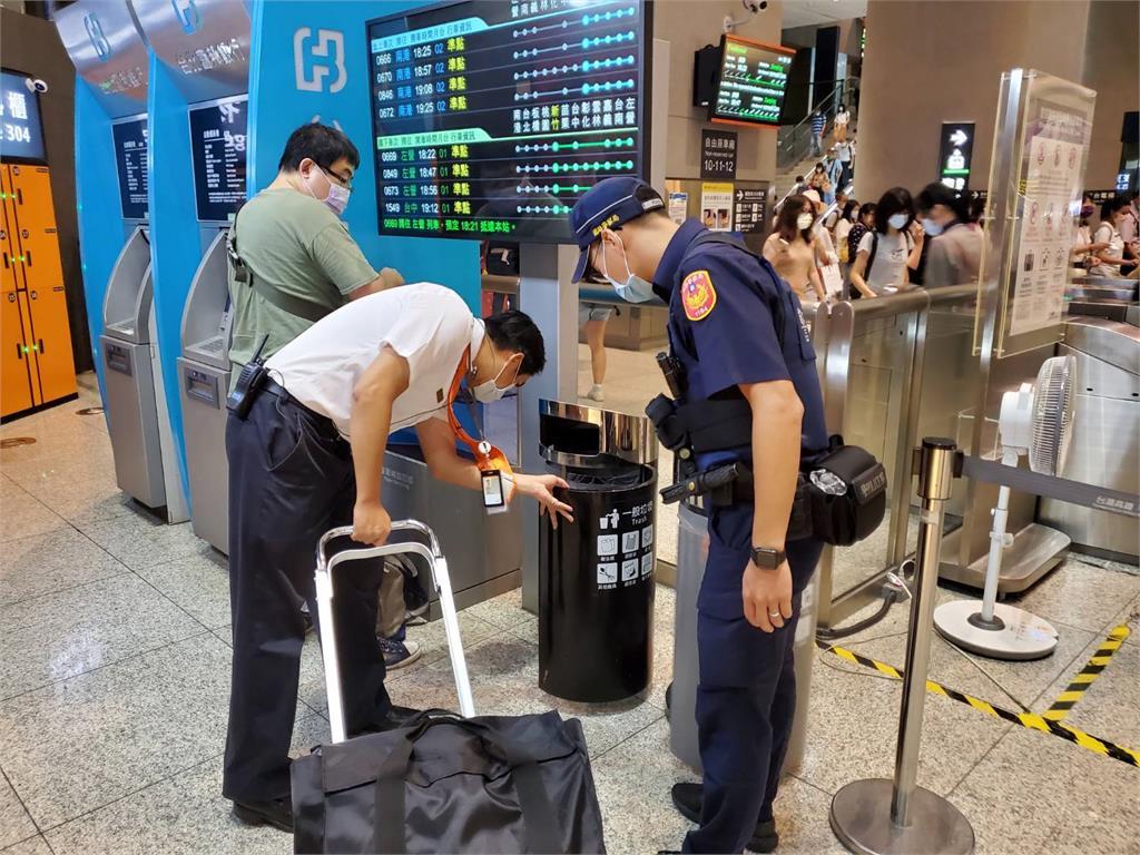 快新聞/高鐵證實收到炸彈恐嚇信  緊急通報鐵路警察