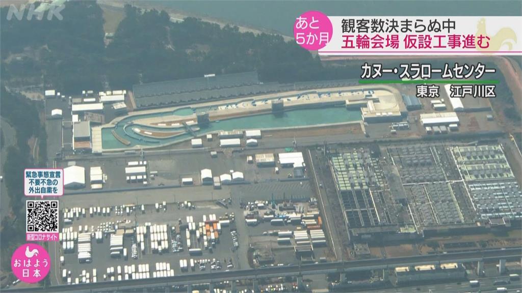 東京奧運場館加緊趕工 若無觀眾經濟損失恐達2.4兆日圓