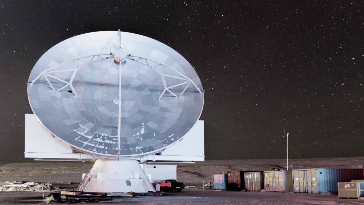 中研院與哈佛合作 架設「格陵蘭望遠鏡」捕捉黑洞