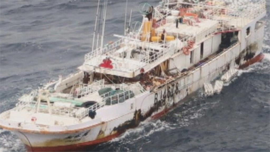 永裕興18號漁船失聯22天 我救援船首度登船 不見失聯10船員
