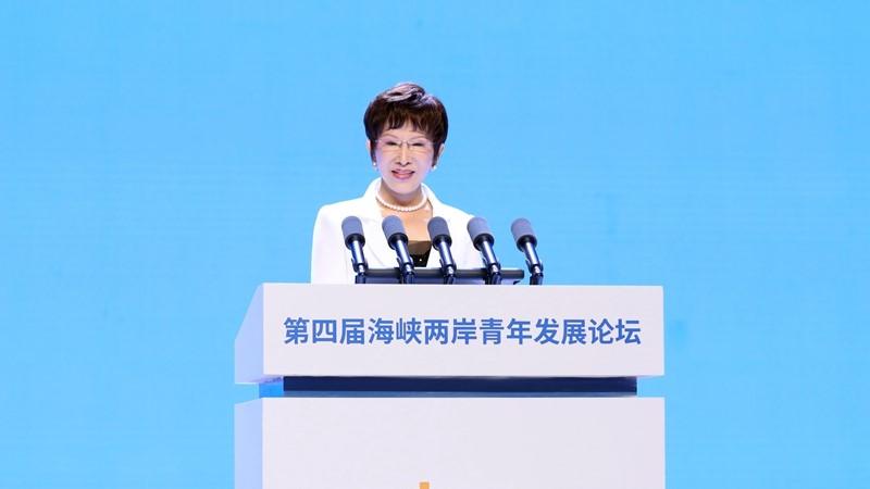 出席兩岸青年論壇!洪秀柱竟喊話:要做「堂堂正正的中國人」