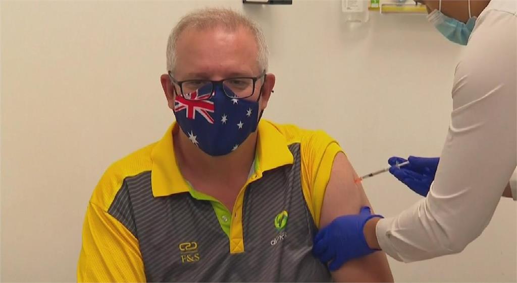 澳洲提前開打新冠疫苗 總理率先接種輝瑞第一劑