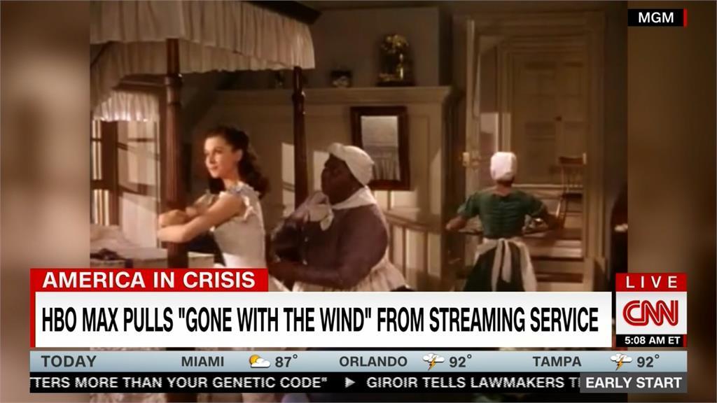 涉美化黑奴制度!《亂世佳人》遭HBO影片串流平台下架